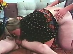 Crazy party with megafat busty girl