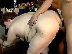 Old fatty hard fucks in doggy style