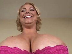Mature present giant melons in home