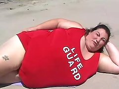 Big fat woman in obese porn video