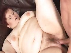 Blazing mature bbw gets penetrated