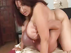 Chubby mature gets massive nailing