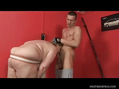 Mature bbw tamara with fat hairy pussy fucked at the gym