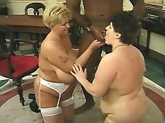 Colossal babe in fuck and blow orgy