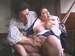 Enormous Asian mom enjoys vibrator